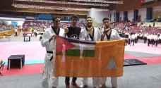الدفاع المدني يحصد 3 ميداليات ملونة في بطولة الشرق الأوسط الدوليةالمفتوحة للتايكواندو