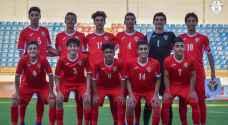 منتخب الناشئين يخسر أمام السعودية في بطولة غرب آسيا