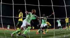 """نسور نيجيريا تهزم """"الأولاد"""" بثنائية وتتأهل لنصف نهائي """"الكان"""""""