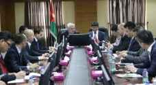 الأردن يرحب بالمستثمرين الصينيين
