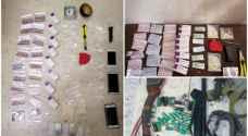 حملات أمنية مكثفة لضبط مطلوبين ومروجي المواد المخدرة - صور