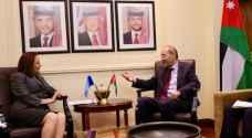 تفاصيل لقاء الصفدي مع رئيس الجمعية العامة للأمم المتحدة