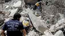 """27 قتيلاً بغارات """"روسية"""" على سوق  خضار في سوريا"""