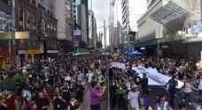 430 ألف متظاهر ضد حكومة هونغ كونغ
