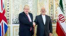 """إيران تهنئ """"جونسون"""" بفوزه برئاسة بريطانيا .. وتحذر بانها """"ستحمي"""" مياه الخليج"""