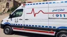 5 اصابات بحريق شقة في عمّان