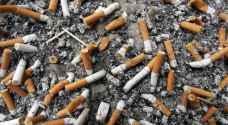 علماء يحذرون من أعقاب السجائر