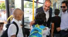 """""""حرير"""" تنظم رحلة لأطفال مرضى السرطان بباص عمّان.. صور"""