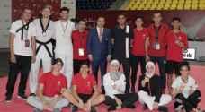 15 ميدالية ملونة للمنتخب الوطني للتايكواندو في بطولة الحسن