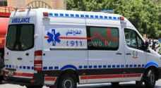 7 إصابات بحادث تصادم 3 مركبات في مأدبا
