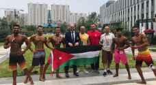 ميداليتان للأردن في بطولة آسيا لبناء الأجسام واللياقة البدنية