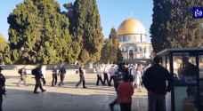 الأردن يحذر الاحتلال من زيادة مدة الاقتحامات للمسجد الأقصى المبارك