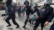 فرنسا تندد باعتقال معارضين السبت في موسكو