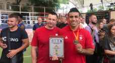 لاعب منتخب الملاكمة أوس عشيش يحقق فوزا بمستهل مشاركته ببطولة آسيا
