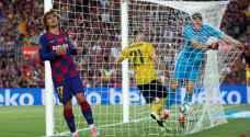 برشلونة يغلب أرسنال في خوان غامبر