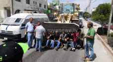 """أصحاب الملاحم في """"حوارة اربد"""" يعترضون على قرارا البلدية"""