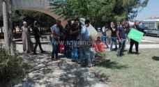 المتعطلون عن العمل من أبناء الكرك يعودون للاعتصام في دابوق