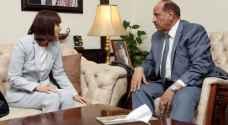 حماد يشيد بالدعم الأمريكي للأردن