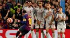 هدف ميسي في ليفربول الأفضل أوروبيا