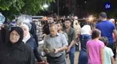 إقبال على الأسواق في دمشق ضمن الاستعدادات لعيد الأضحى المبارك - فيديو