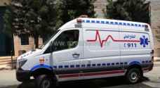 8 اصابات بحادث تصادم في المفرق
