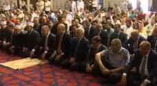 نائب الملك يشارك المصلين أداء صلاة عيد الأضحى المبارك.. فيديو