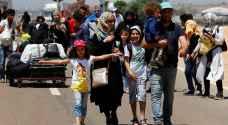 26 ألف لاجئ سوري من أصل 1.3 مليون يقطنون الأردن عادوا لبلدانهم