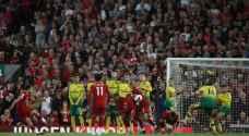 """من أول مباراة.. لاعبو ليفربول يحطمون """"قانون الجدار"""" بطريقتهم"""