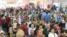 10 آلاف فلسطيني تنقلوا عبر معبر الكرامة في ثاني أيام العيد - صور