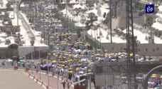الحجاج يواصلون أداء المناسك مع بدء أيام التشريق - فيديو