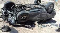 إصابتان بالغتان بحادث تدهور مركبة في العقبة