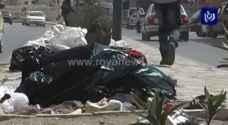 بلدية عجلون تجمع  140 طنا من النفايات خلال العيد