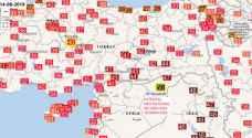 مدينة سورية تسجل أعلى درجة حرارة عالمياً