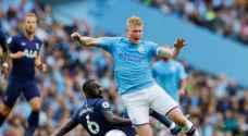 """""""الفار"""" يرغم مانشستر سيتي على تعادل مثير مع توتنهام"""