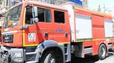 إخماد حريق بسيط بمستودع أدوية في مستشفى حمزة