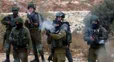 اصابة 5 شبان برصاص الاحتلال في نابلس