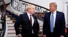 """ترمب يعرض على بريطانيا اتفاقا تجاريا """"كبيرا جدا"""""""