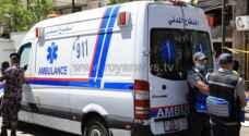 6 اصابات بحادث تصادم في اربد