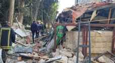بيان من الدفاع المدني حول الانفجار بشارع الرينبو