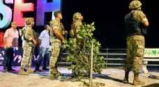 شاهد .. الجيش اللبناني يطلق النار صوب طائرات مسيرة لجيش الاحتلال