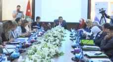 الطراونة: المجلس أقر تشريعات مساندة لعمل المرأة ولن يدخر جهدا في تمكينها الاقتصادي..فيديو