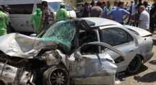 وفاة وإصابتين بحادث تصادم في عمان.. صور