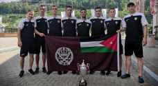 """""""الدرك"""" يظفر بالمركز الثالث في بطولة الشرطة والدرك الدولية لخماسيات الكرة"""