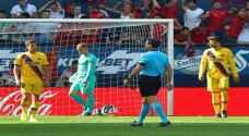 برشلونة يواصل إهدار النقاط بتعادله مع أوساسونا