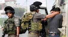 اعتقال 18 فلسطينيًا من مدن وقرى الضفة الغربية