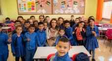 تفاصيل زيارة الملكة رانيا العبدالله للضليل  -صور