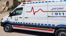 وفاة و3 إصابات بحادث تصادم في الزرقاء
