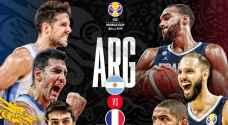 الأرجنتين تقصي فرنسا من كأس العالم لكرة السلة