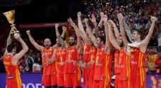 إسبانيا تتوج بلقب كأس العالم لكرة السلة