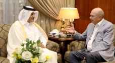 آل ثاني للفايز: قطر تعتز بعلاقاتها الأخوية مع الأردن